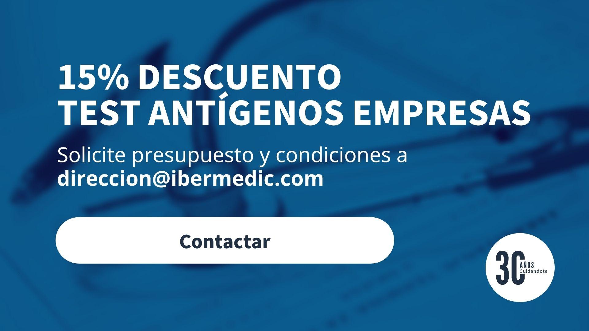 Phone Ibermedic Banner Test Antigenos Empresa Descuento